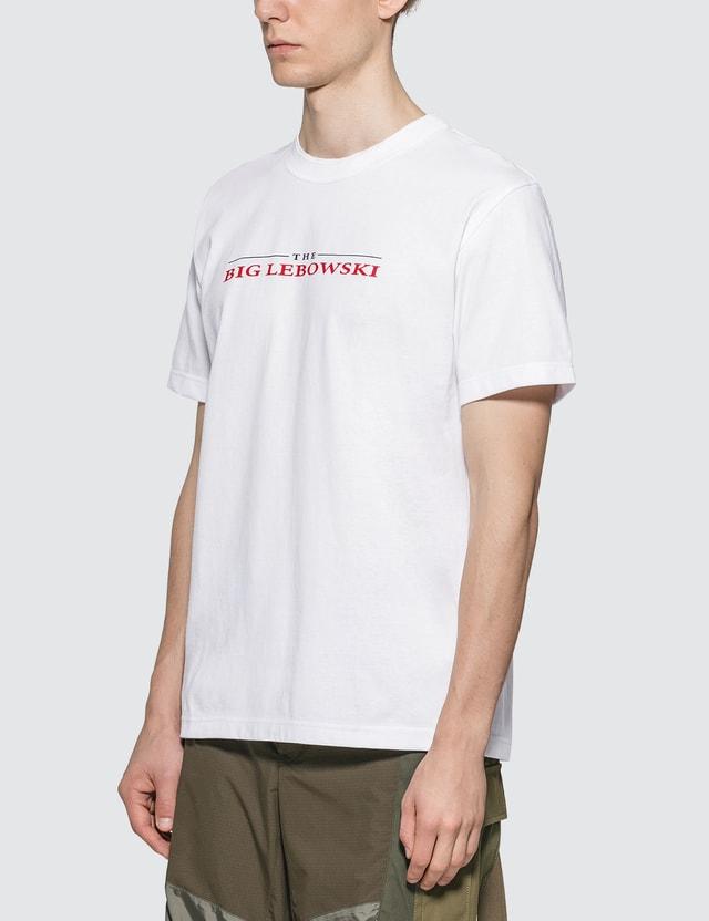 Sacai Big Lebowski T-Shirt White X Red 117 Men