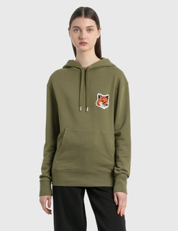 Maison Kitsune Velvet Fox Head Patch Classic Hoodie
