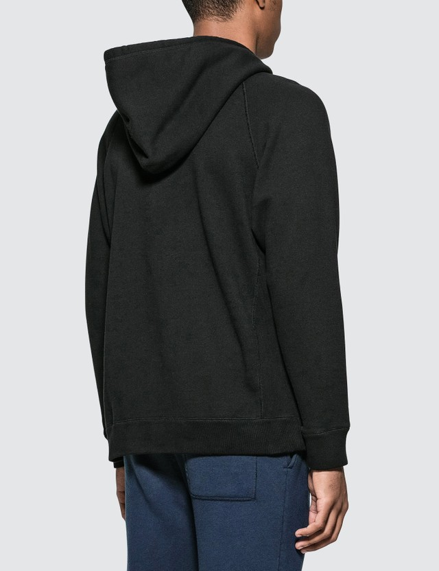 Denim By Vanquish & Fragment Fragment Logo Print Hoodie in Black