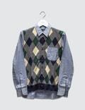 Comme des Garçons HOMME Argyle Knit Shirt Picture
