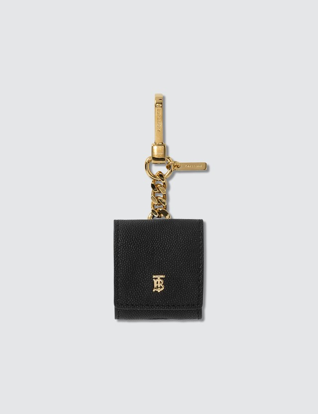 Burberry Grainy Leather AirPod Case