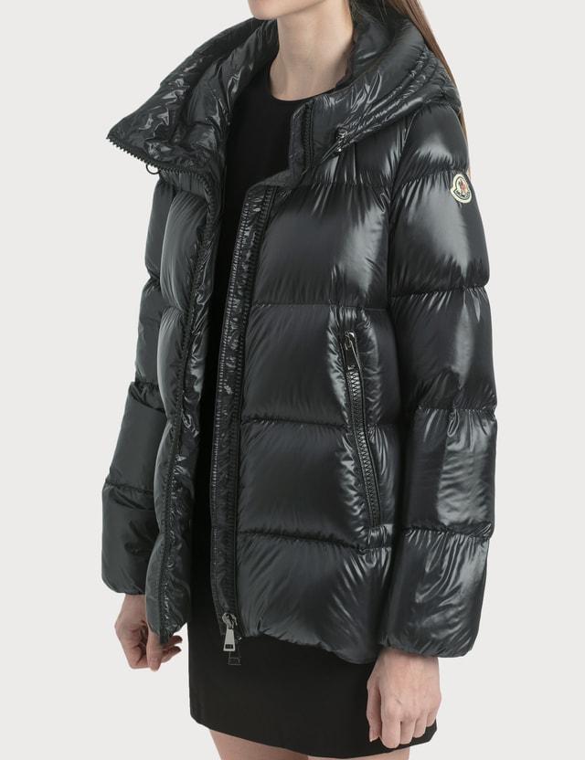 Moncler Seritte Down Jacket Black Women