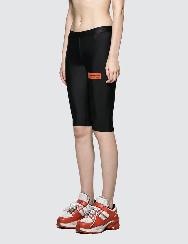 Heron Preston Elastic Biker Shorts