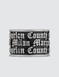 Marcelo Burlon County Of Milan Gothic Ring Picture