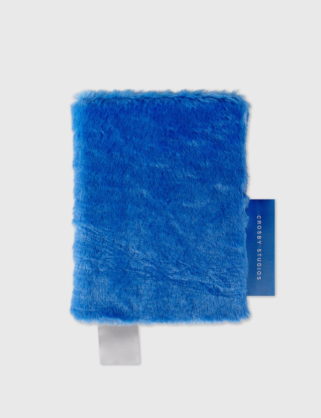Crosby Studios Blue Medium Fur Notebook Blue Men
