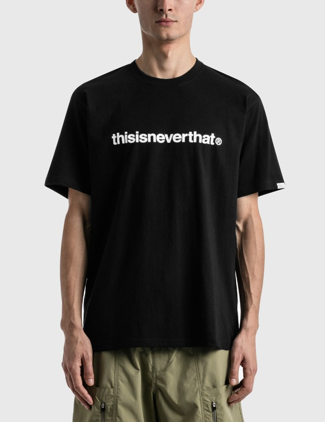 Thisisneverthat T-logo T-shirt Black Men