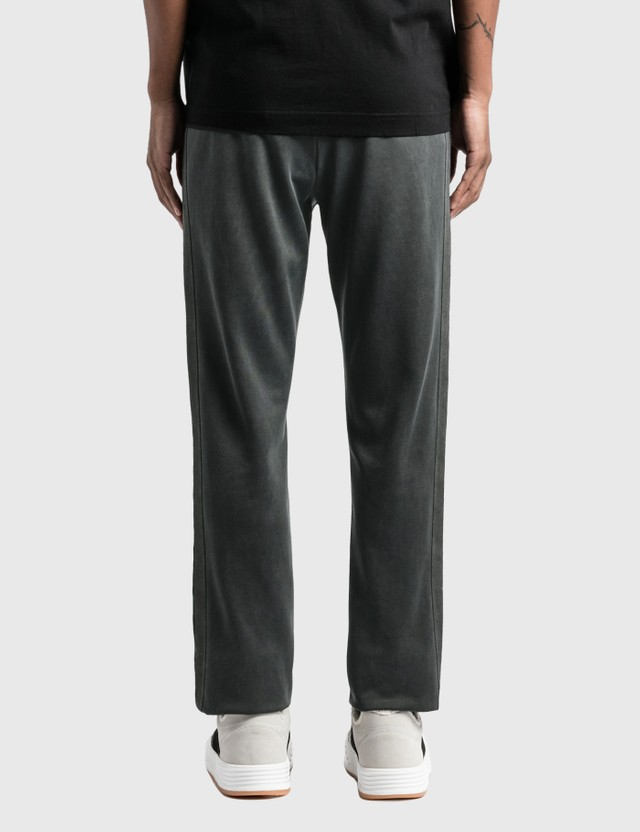 Palm Angels Garment Dyed Track Pants Black Men