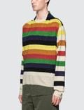JW Anderson Multi Color Stripe Knit