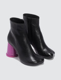 MM6 Maison Margiela Color-block Cup Heel Ankle Boots