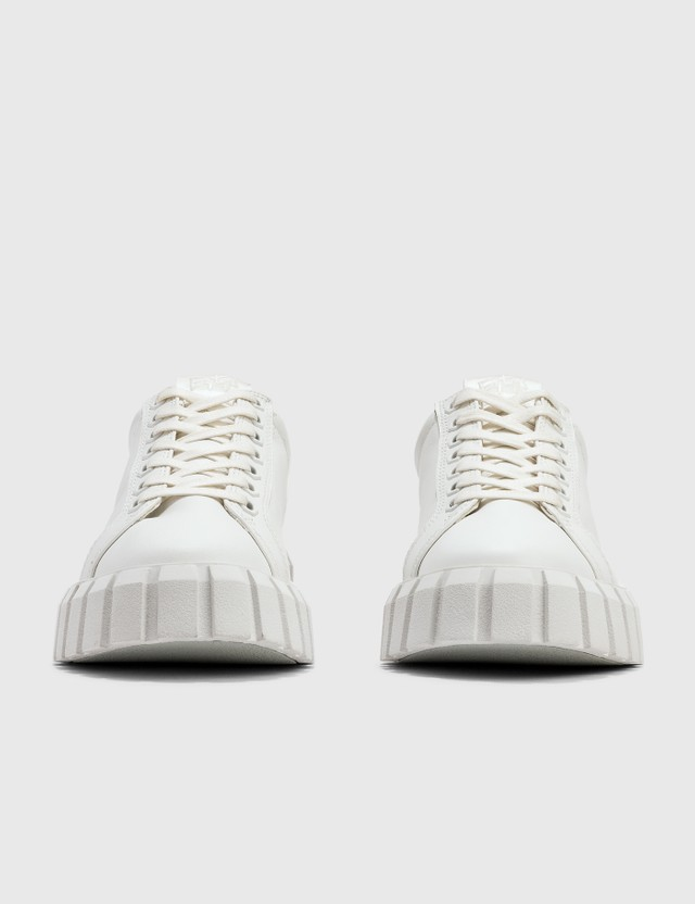 Eytys Odessa Leather White Sneaker White Women