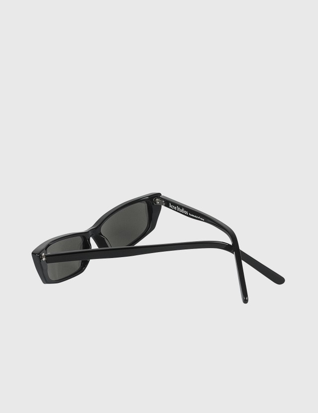 Acne Studios Agar Sunglasses Black/silver Mirror Women