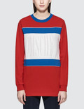 MISCHIEF Color Block L/S T-Shirt Picture