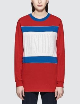 MISCHIEF Color Block L/S T-Shirt