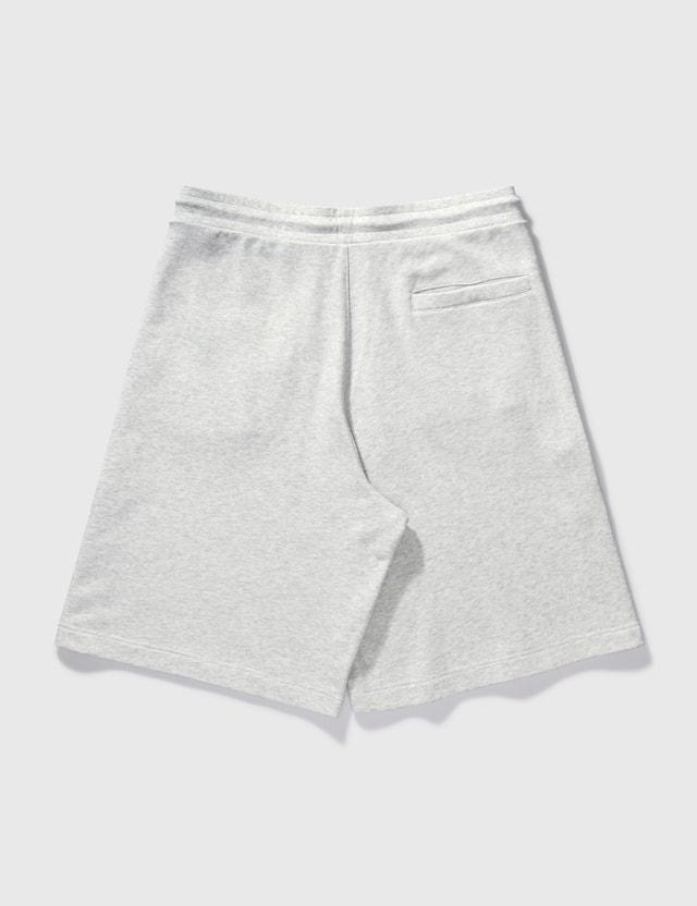 Moncler Cotton Sweat Shorts Grey Men