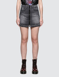 Marcelo Burlon Light Wash Skirt 사진