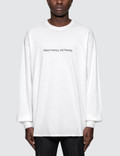 """Fuck Art, Make Tees """"Need money, not friends"""" L/S T-Shirt Picture"""