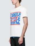 Stella McCartney No Smile No Service Print S/S T-Shirt