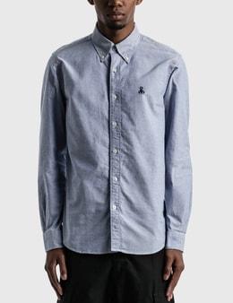 SOPHNET. Paneled Sleeve B.D. Shirt