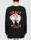 #FR2 Crack Kills L/S T-Shirt Picutre