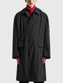 Random Identities Satin Overcoat
