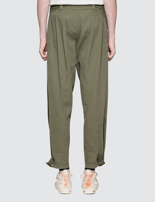 JW Anderson Garment Dyed Army Trousers