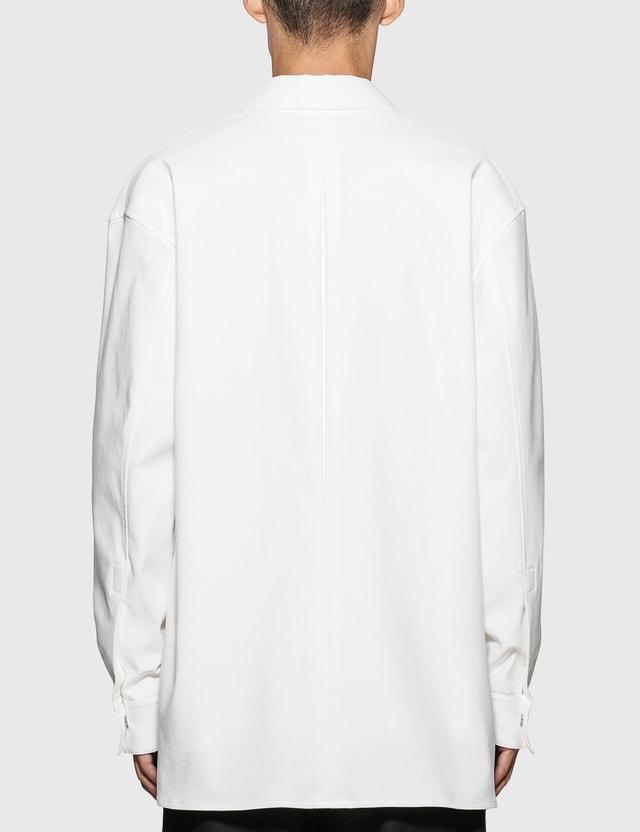 Bottega Veneta Shirt Jacket 9000-white Men