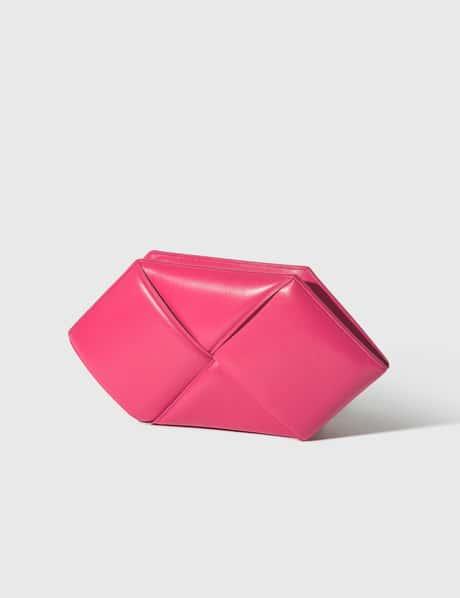 보테가 베네타 Bottega Veneta Maxi Intrecciato Nappa Leather Clutch