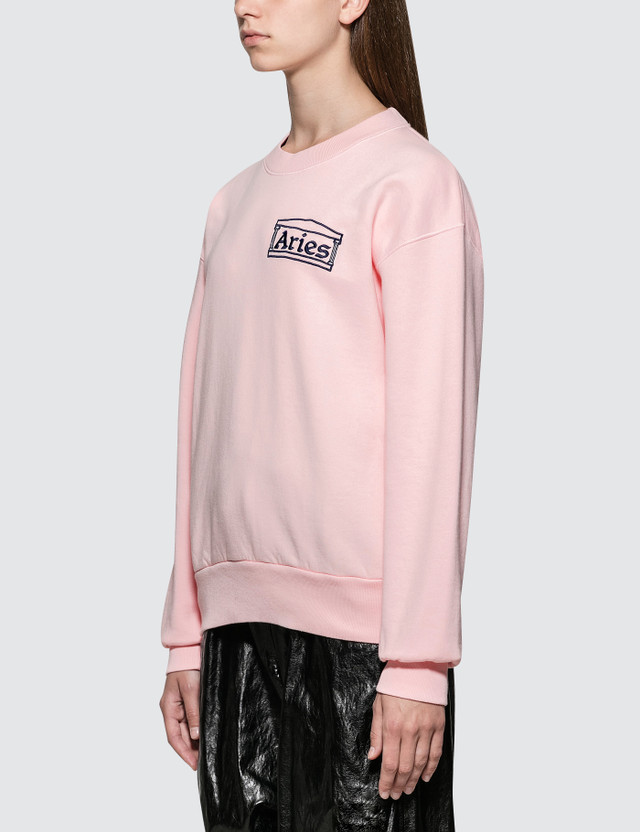 Aries Aries Logo Sweatshirt