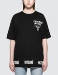 Maison Kitsune Chicago Bulls S/S T-Shirt Picutre