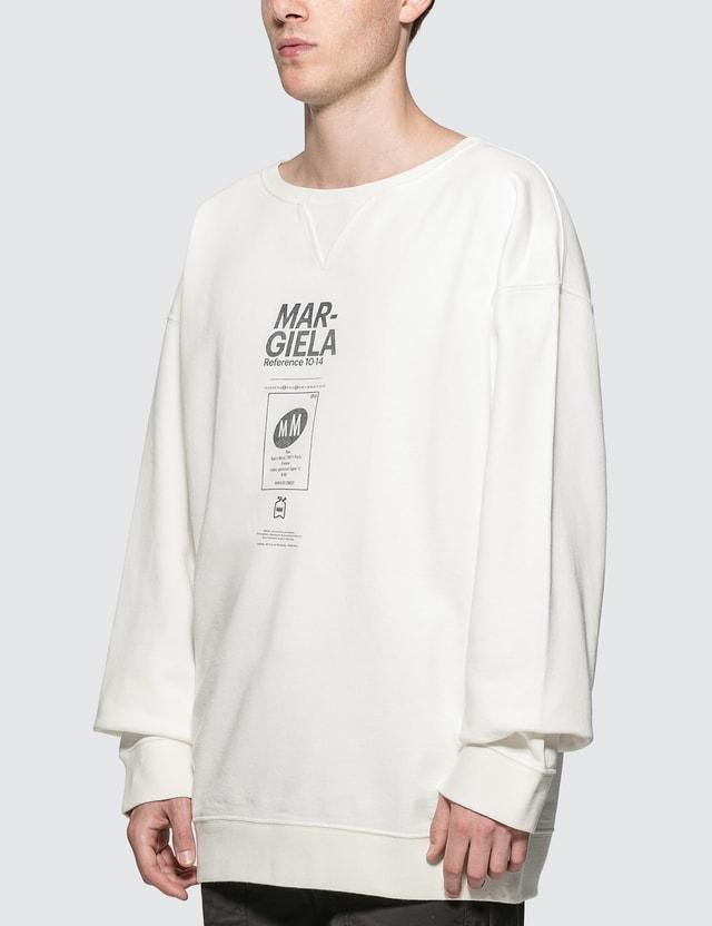 Maison Margiela Logo Sweatshirt