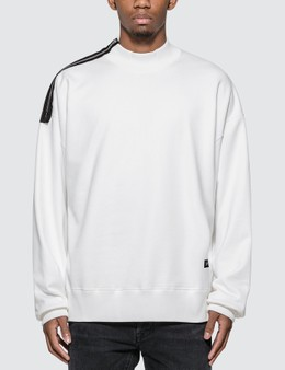 Mastermind World Shoulder Zip Skull Sweatshirt