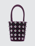 Alexander Wang Roxy Cage Velvet Mini Bucket with Studs Picture