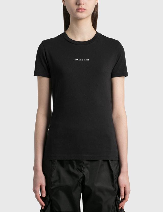 1017 ALYX 9SM Address Logo T-Shirt Black Women