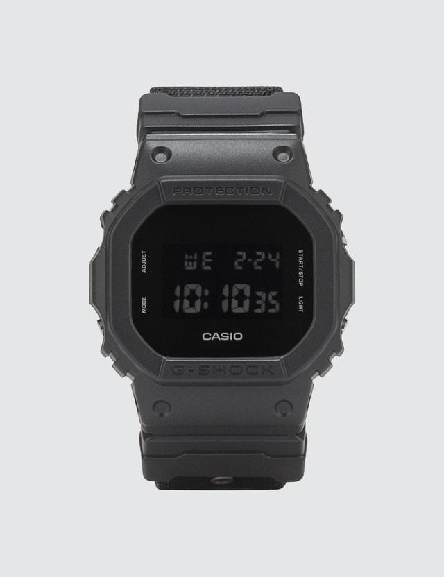 G-Shock DW5600BBN with Cordura® Strap