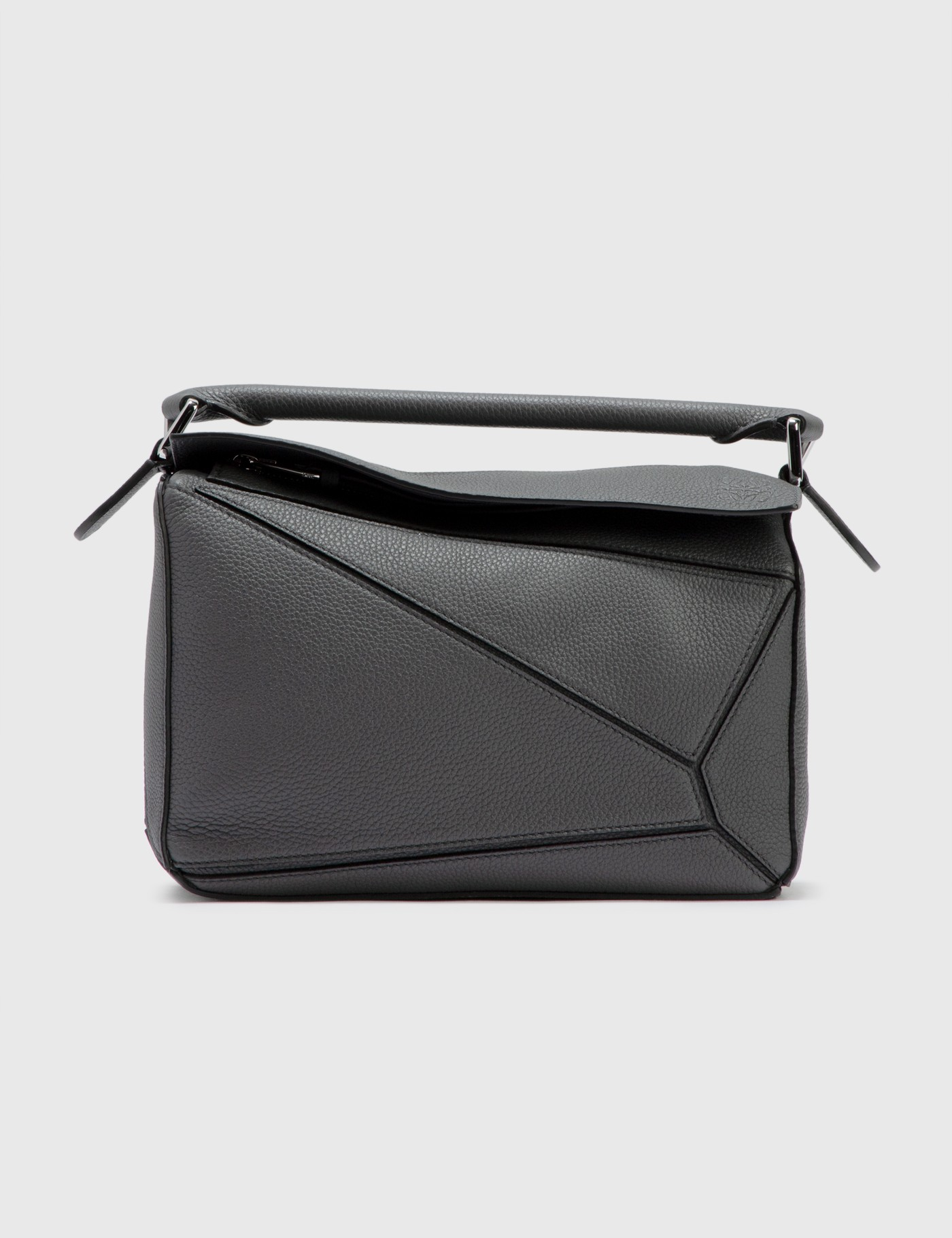 Loewe Small Puzzle Bag In Gray