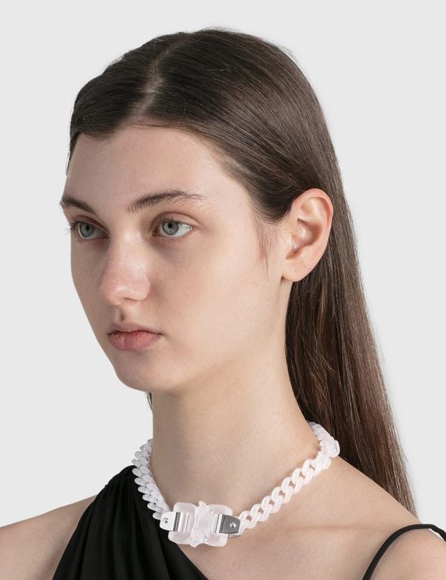 1017 ALYX 9SM Transparent Chain Necklace Transparent Women