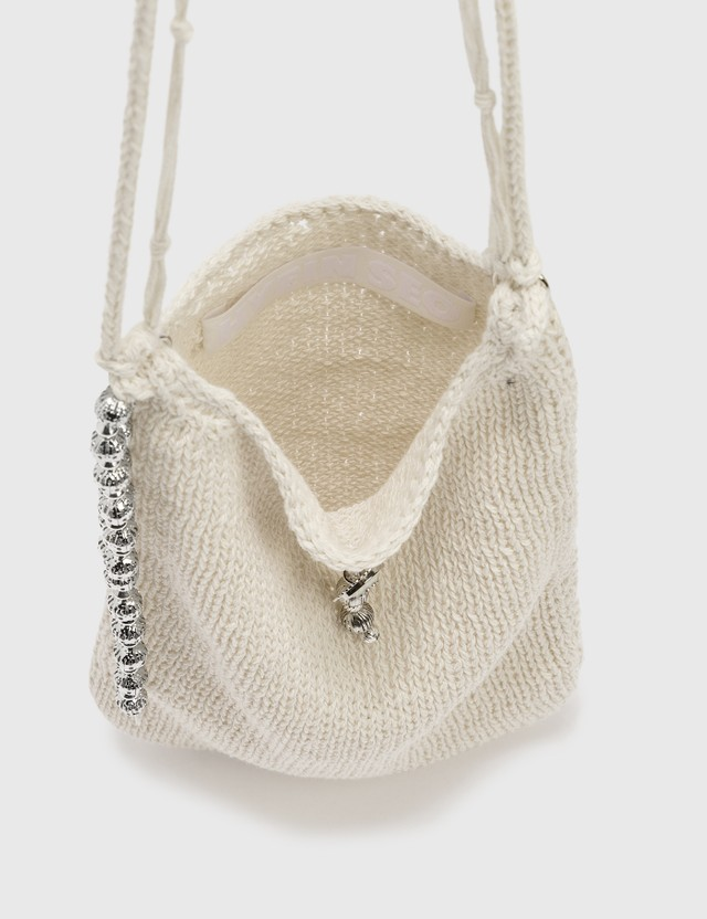 Hyein Seo Knit Pocket Bag Ivory Women