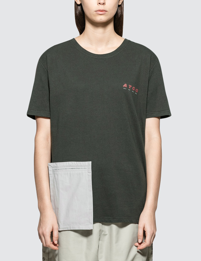 C2H4 Los Angeles Component Pocket Short Sleeve T-shirt