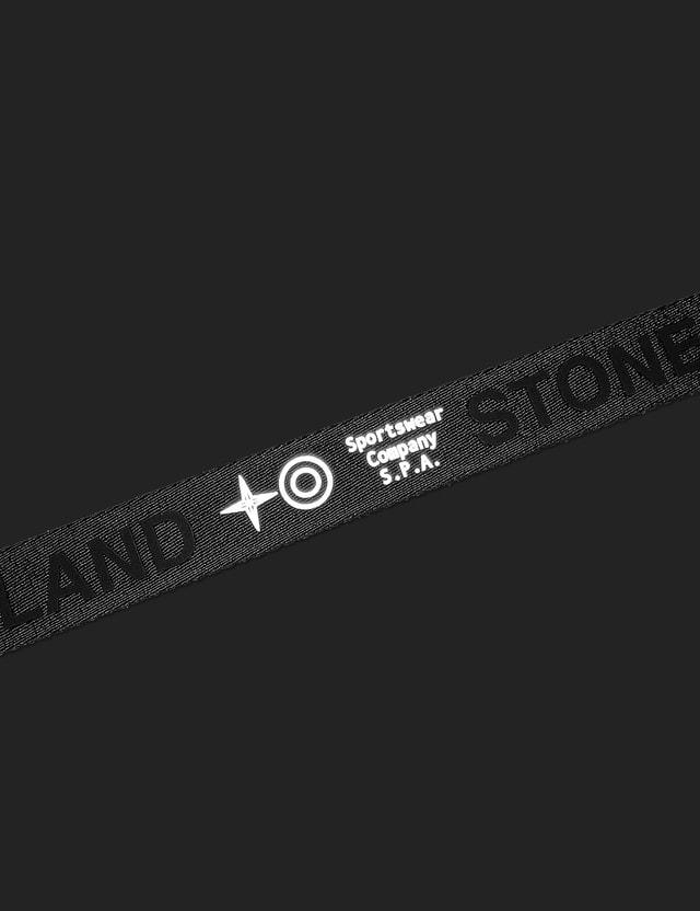 Stone Island Nylon Tape Belt Black  Men