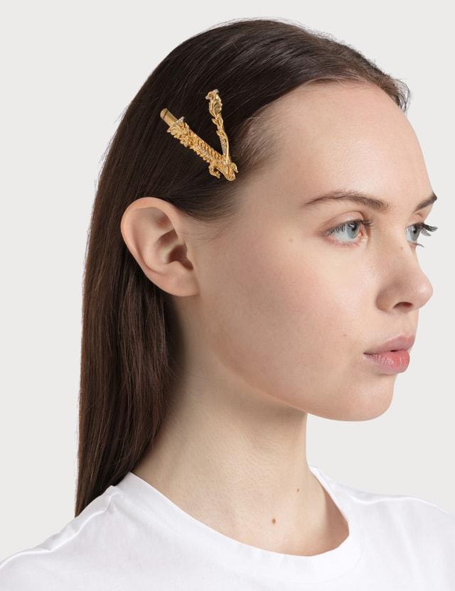 Versace Virtus Crystal Hair Pin