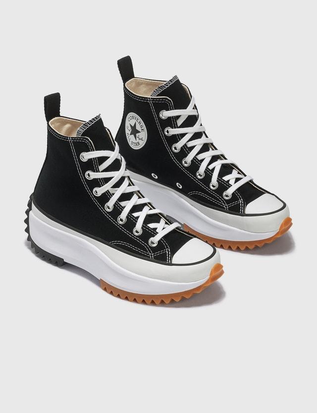 Converse Run Star Hike Hi Black/white/gum Women
