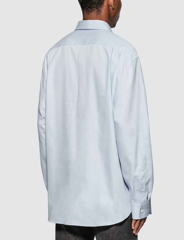 Loewe Anagram Embroidered Oversize Shirt