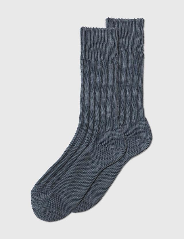 Decka Socks Cased Heavy Weight Plain Socks (3rd Collections) Stone Men