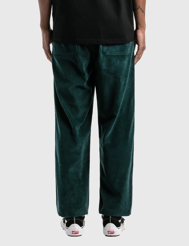 Victoria Corduroy Lazy Pants Dark Teal Men