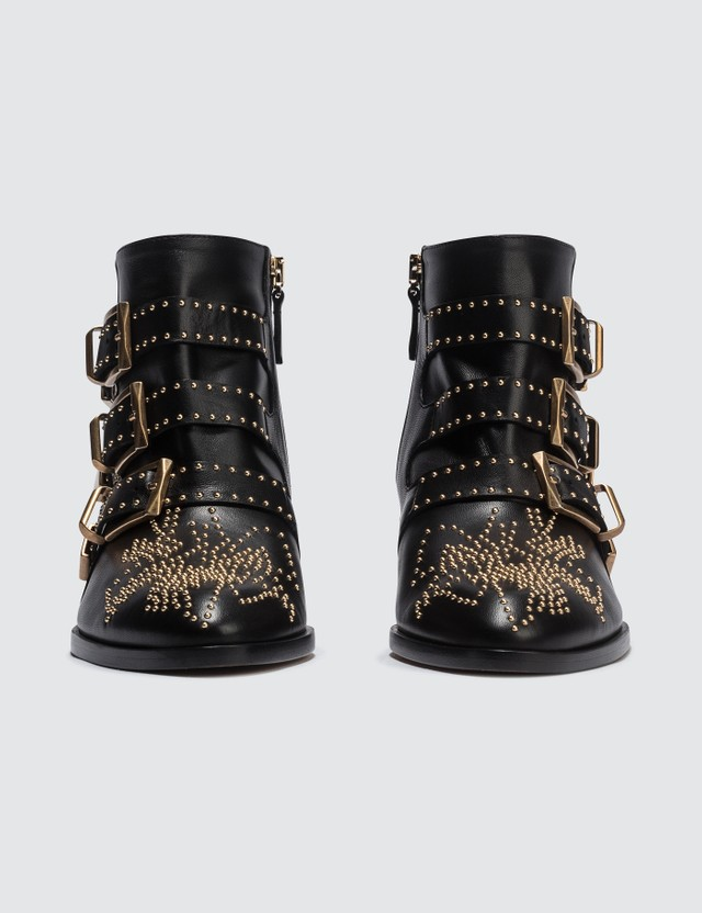 Chloé Susanna Studded Leather Ankle Boot