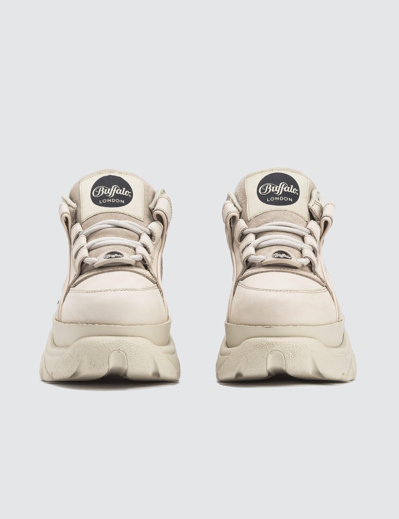 buffalo sneakers cream