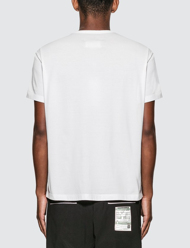 Maison Margiela 리버스 로고 티셔츠 White Men