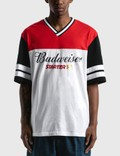 Starter Budweiser x Starter Colorblocked Oversized T-Shirt Picture