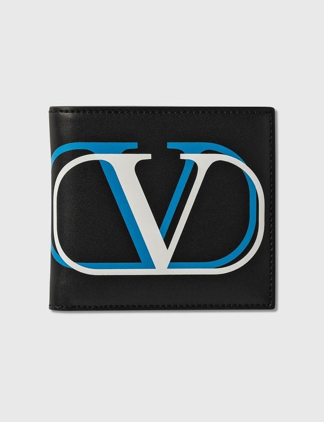 Valentino Valentino Garavani Double V Logo 빌폴드 지갑