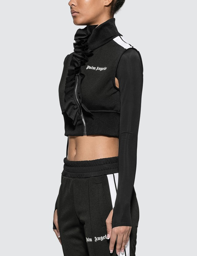 Palm Angels Rouches Track Vest